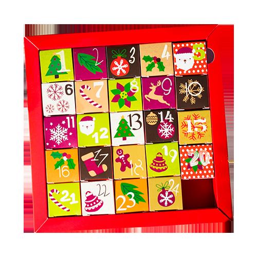 Calendar cu praline