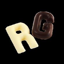 Litere din Ciocolata