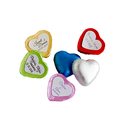 Inimioare Pastelate